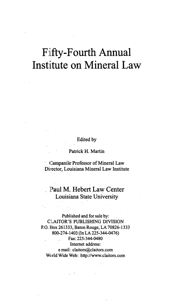 handle is hein.journals/mineral48 and id is 1 raw text is: Fifty-Fourth Annual