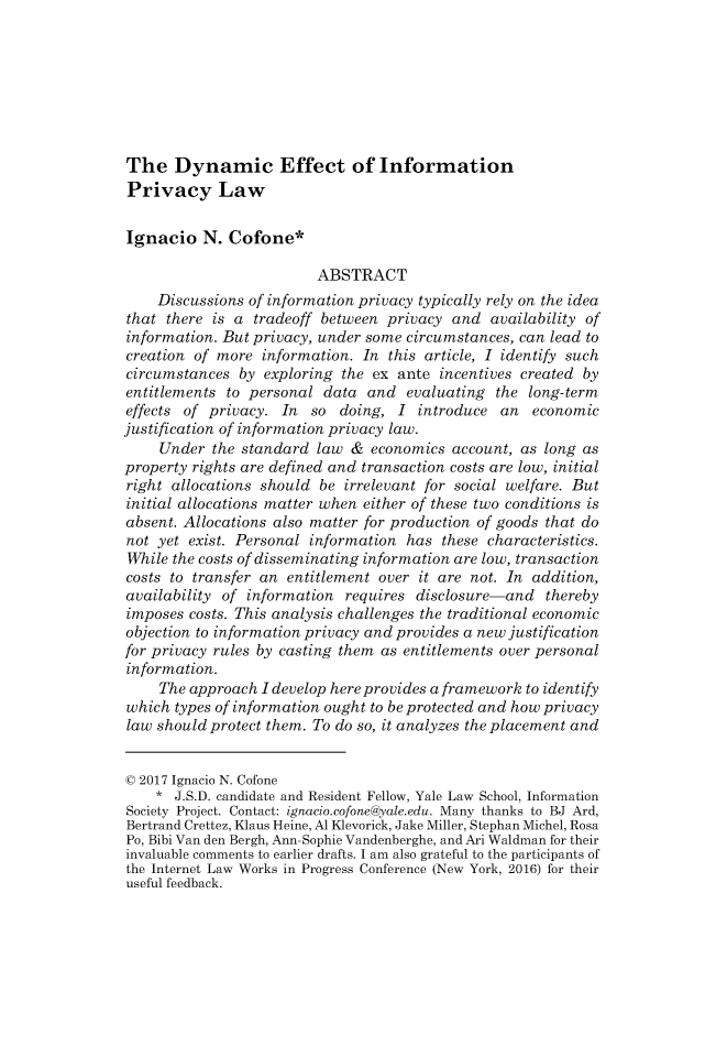 handle is hein.journals/mipr18 and id is 535 raw text is: 