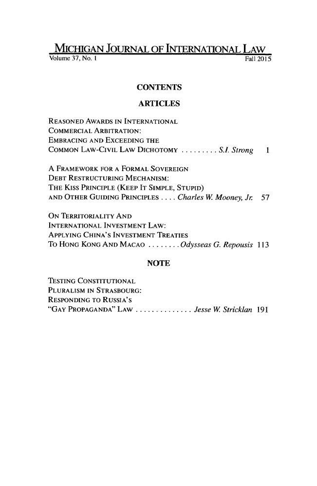 handle is hein.journals/mjil37 and id is 1 raw text is: 