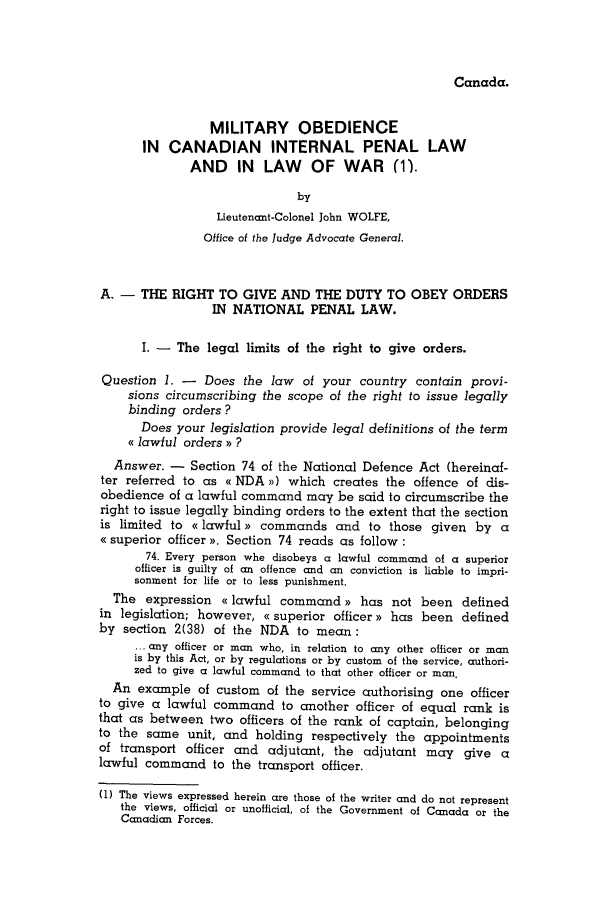 handle is hein.journals/mllwr10 and id is 119 raw text is: Canada.