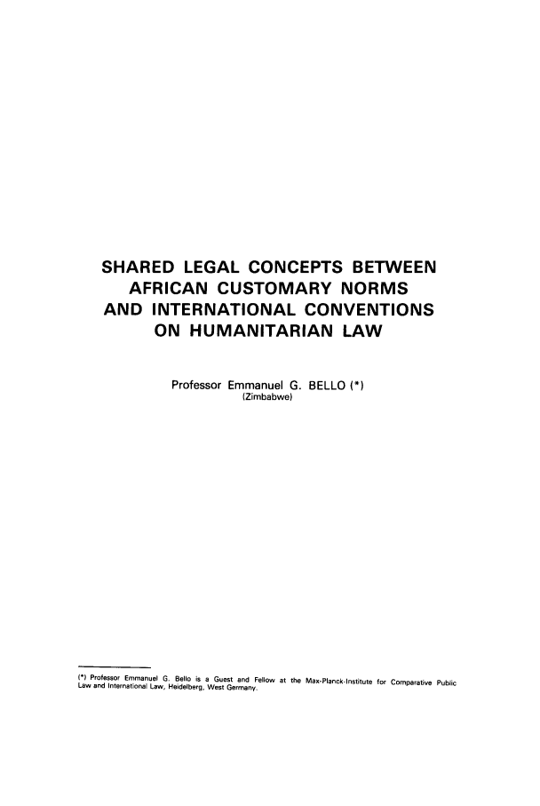 handle is hein.journals/mllwr23 and id is 287 raw text is: SHARED LEGAL CONCEPTS BETWEEN