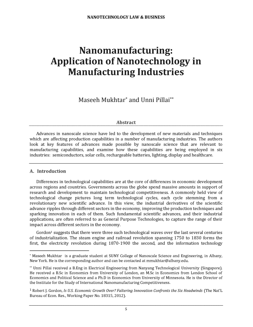 handle is hein.journals/nantechlb12 and id is 1 raw text is: 
