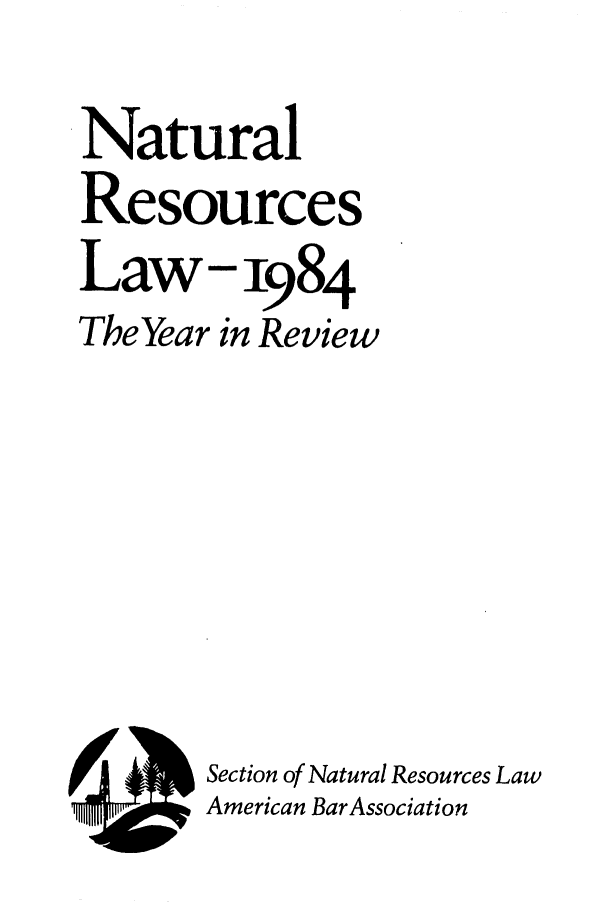 handle is hein.journals/naresoe1 and id is 1 raw text is: Natural