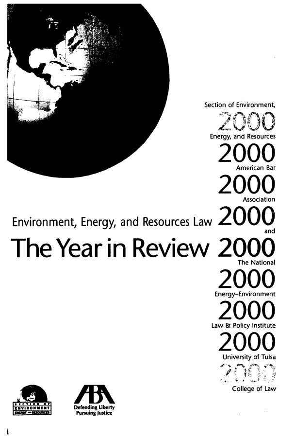 handle is hein.journals/naresoe17 and id is 1 raw text is: Environment, Energy, and Resources La