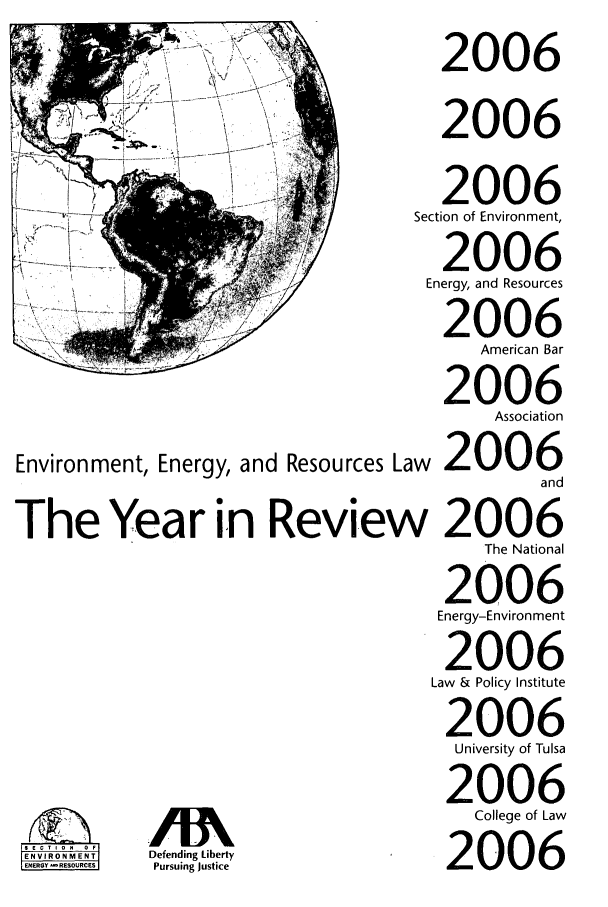 handle is hein.journals/naresoe23 and id is 1 raw text is: Environment, Energy, and Resources La