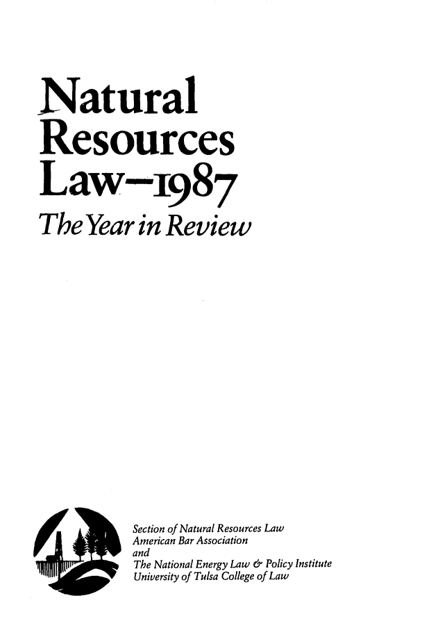 handle is hein.journals/naresoe4 and id is 1 raw text is: Natural