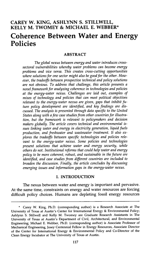 handle is hein.journals/narj53 and id is 125 raw text is: CAREY W. KING, ASHLYNN S. STILLWELL,