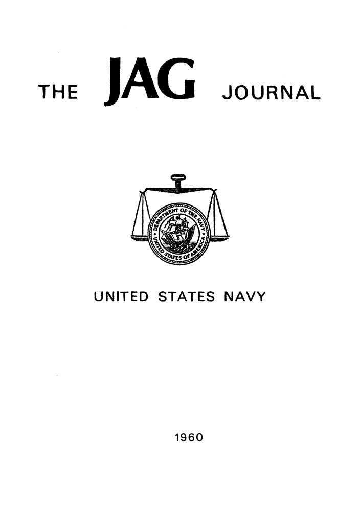 handle is hein.journals/naval1960 and id is 1 raw text is: JAG