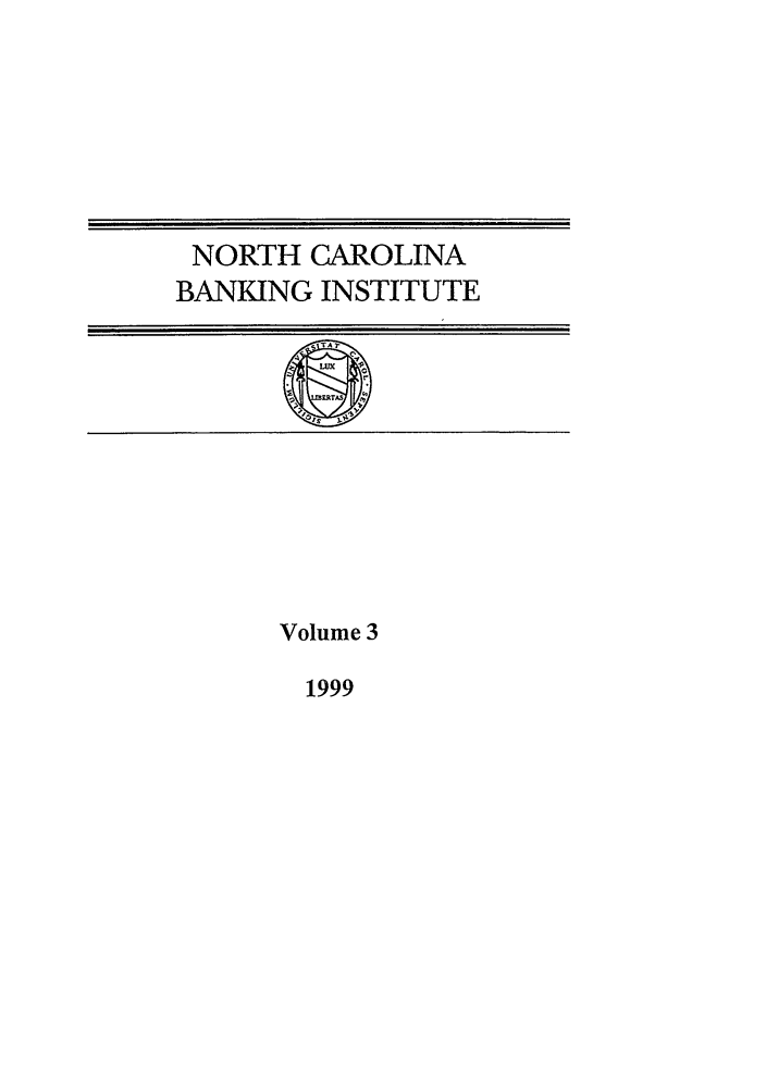 handle is hein.journals/ncbj3 and id is 1 raw text is: NORTH CAROLINA