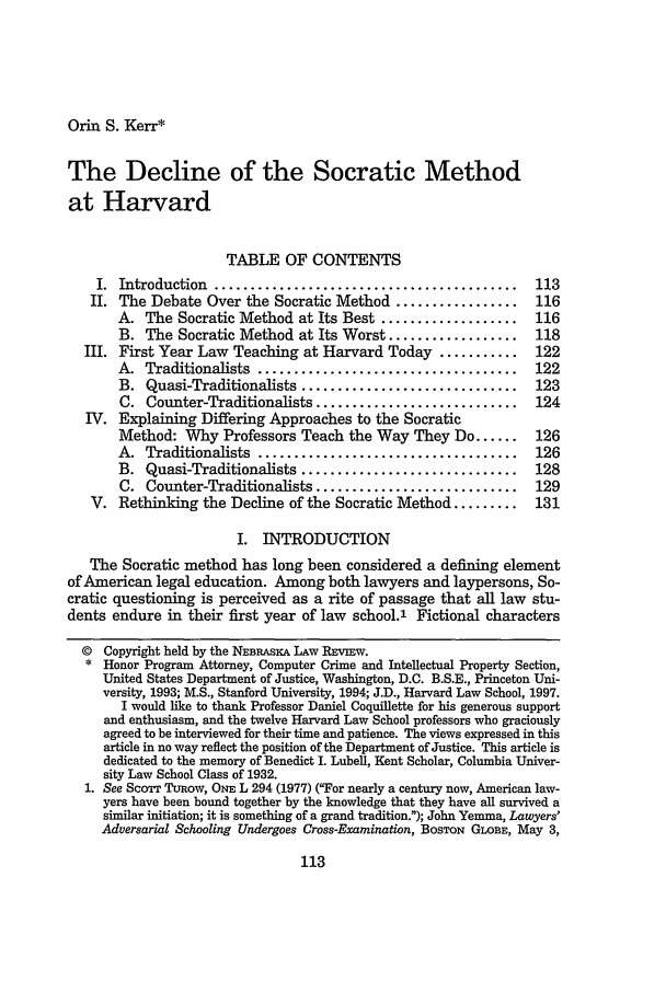 handle is hein.journals/nebklr78 and id is 123 raw text is: Orin S. Kerr*