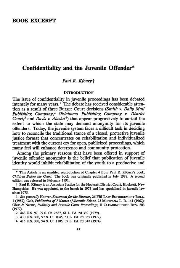 handle is hein.journals/nejccc17 and id is 61 raw text is: BOOK EXCERPT