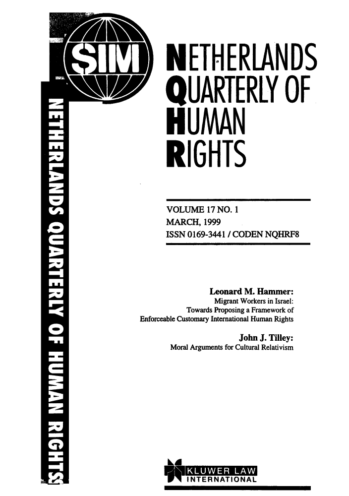 handle is hein.journals/nethqur32 and id is 1 raw text is: :1 IV