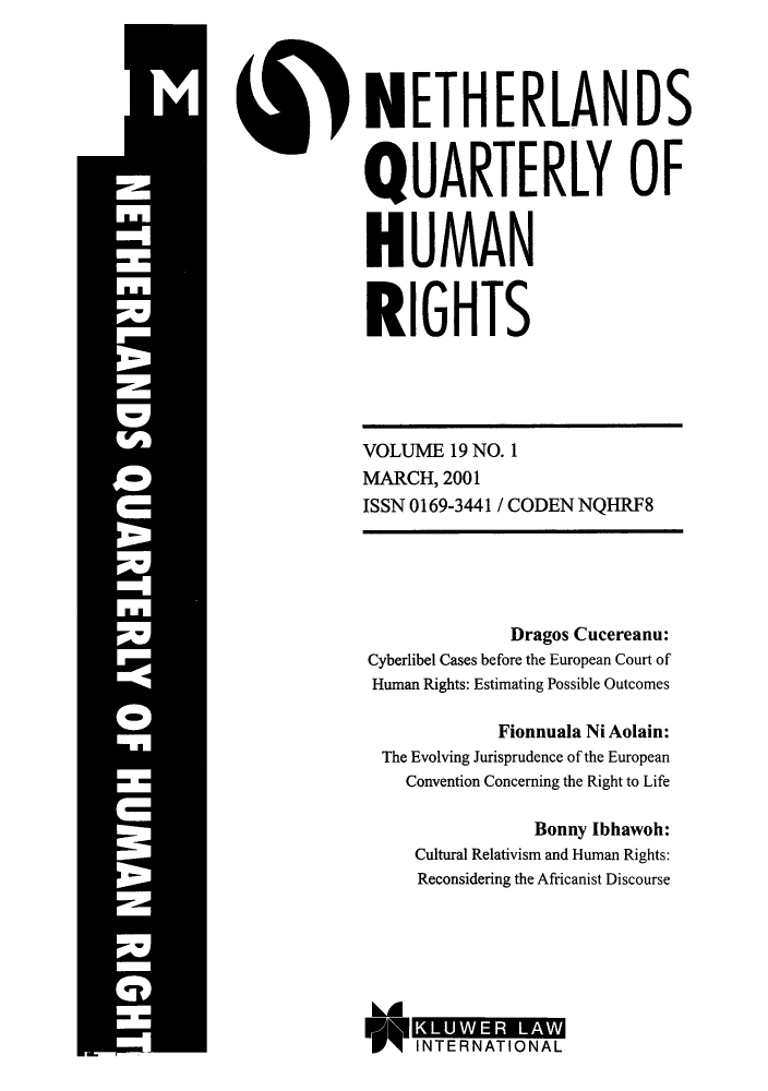 handle is hein.journals/nethqur34 and id is 1 raw text is: NETHERLANDS
