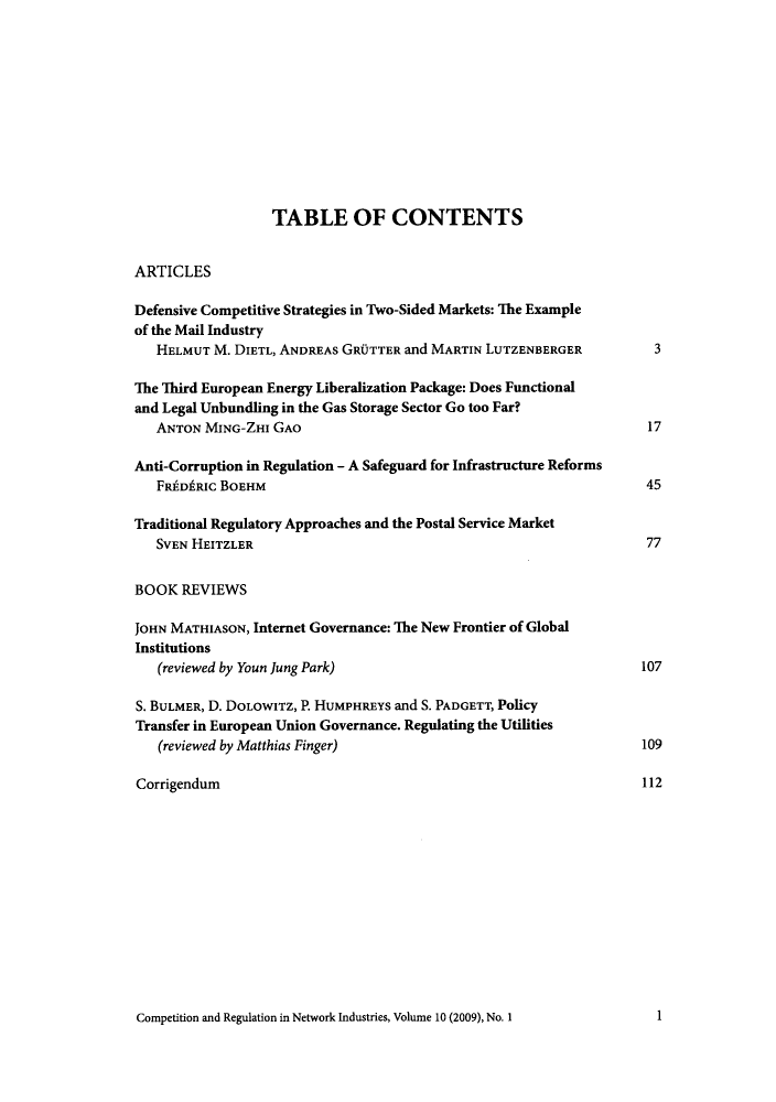 handle is hein.journals/netwin10 and id is 1 raw text is: TABLE OF CONTENTS
