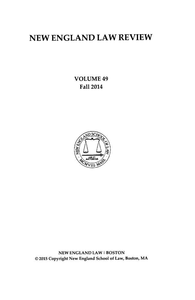 handle is hein.journals/newlr49 and id is 1 raw text is: 
