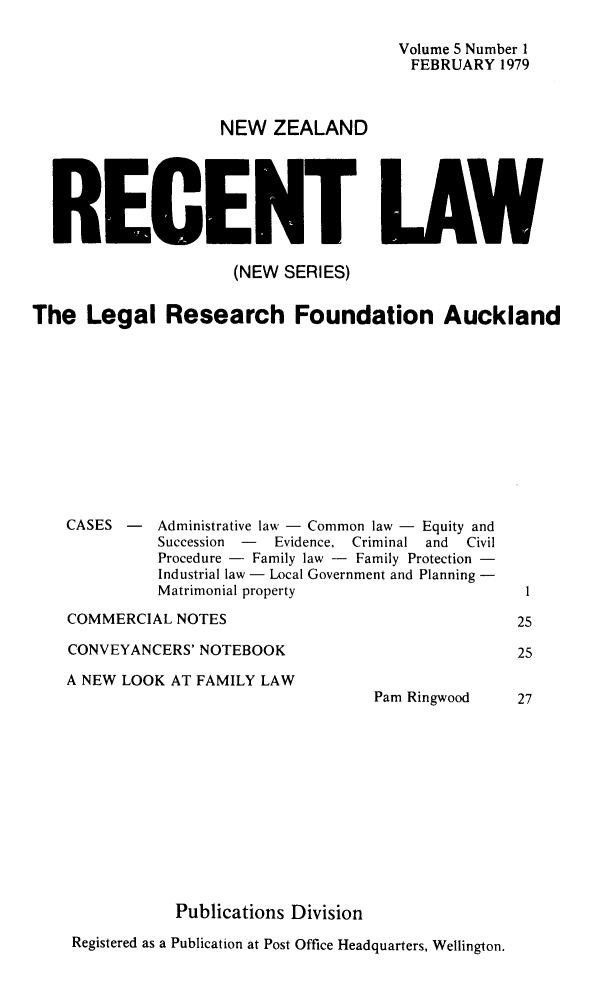 handle is hein.journals/newzlndrl5 and id is 1 raw text is: 