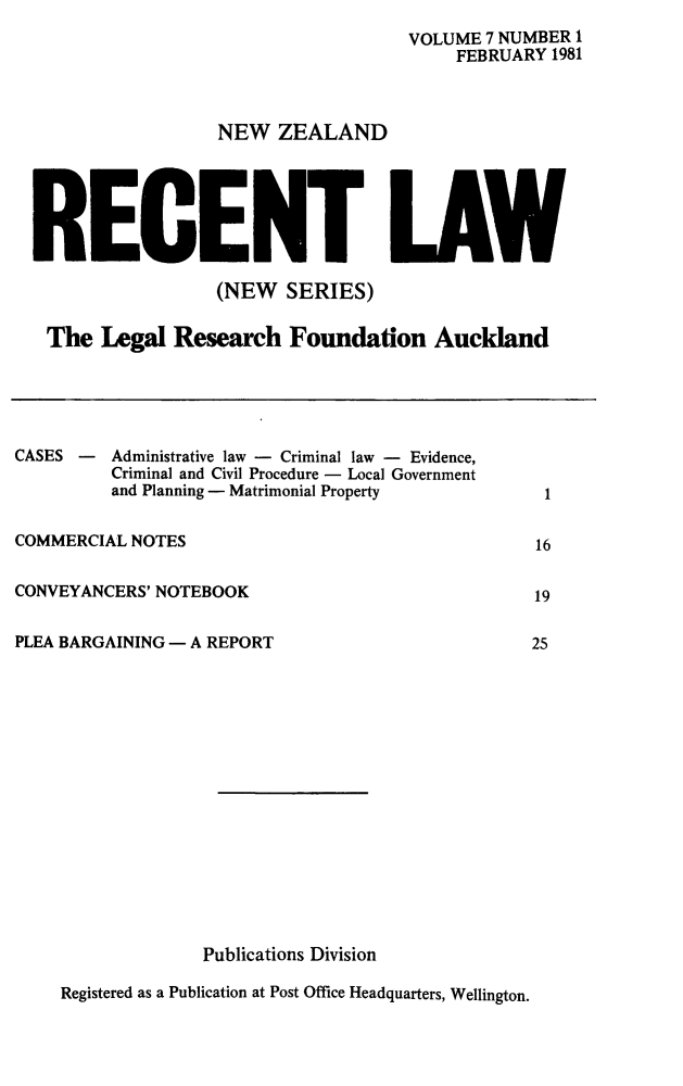 handle is hein.journals/newzlndrl7 and id is 1 raw text is: 