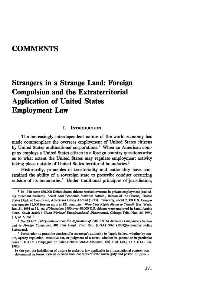 handle is hein.journals/nwjilb11 and id is 381 raw text is: COMMENTS
