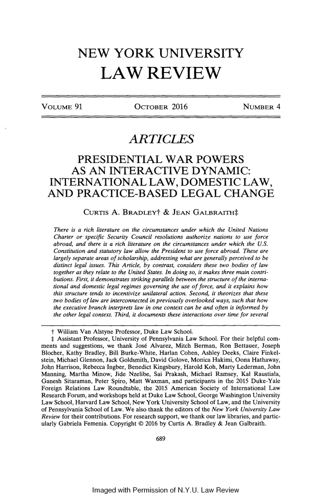 handle is hein.journals/nylr91 and id is 720 raw text is: 