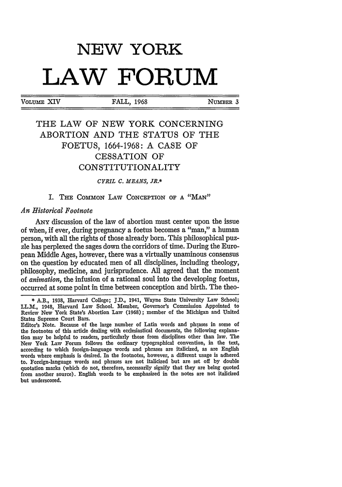 handle is hein.journals/nyls14 and id is 433 raw text is: NEW YORK
