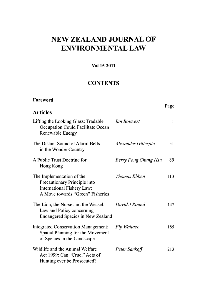 handle is hein.journals/nzjel15 and id is 1 raw text is: NEW ZEALAND JOURNAL OF