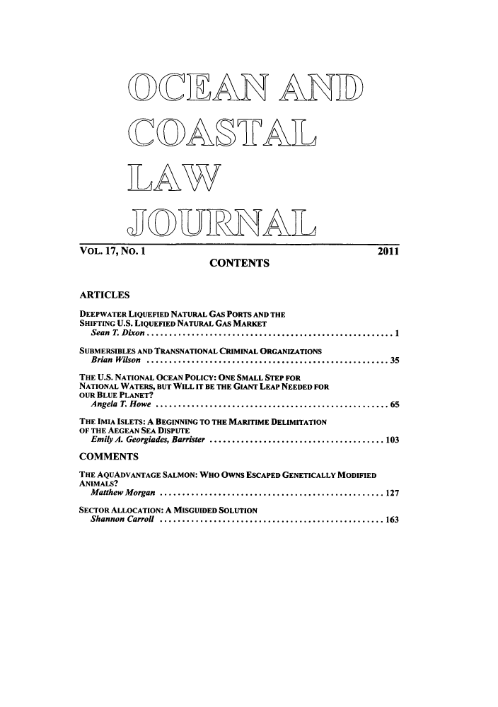 handle is hein.journals/occoa17 and id is 1 raw text is: O2CEAN AND