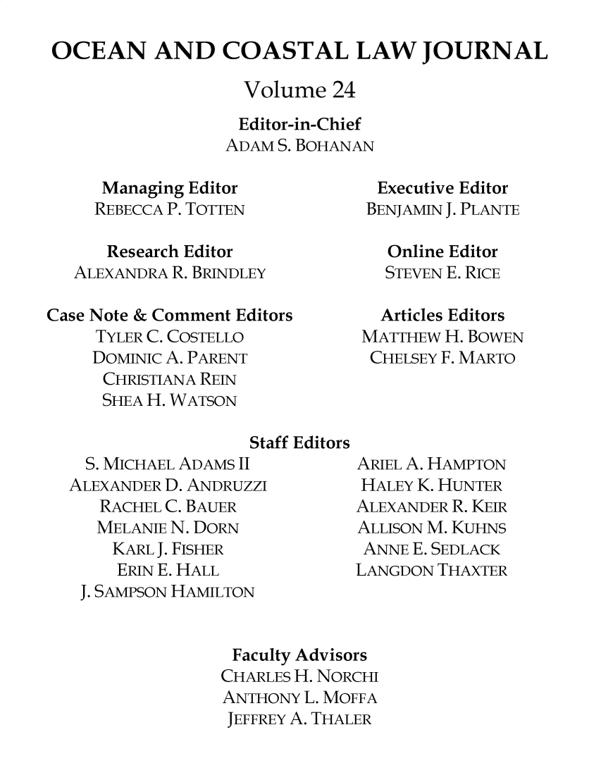 handle is hein.journals/occoa24 and id is 1 raw text is: 