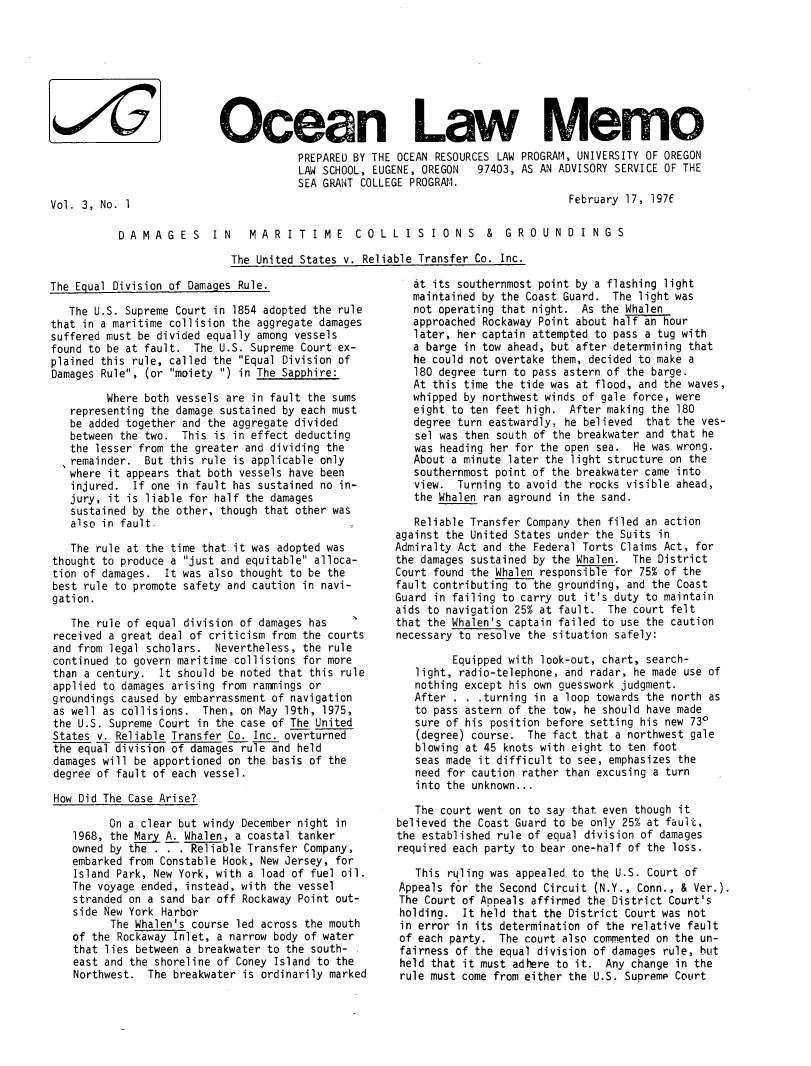 handle is hein.journals/ocoaslme3 and id is 1 raw text is: 