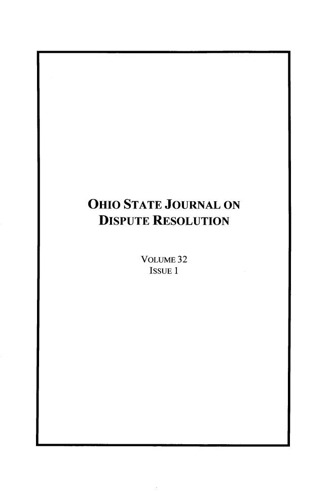 handle is hein.journals/ohjdpr32 and id is 1 raw text is: 