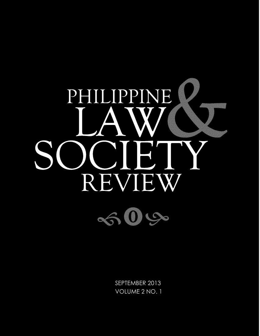 handle is hein.journals/plsr2 and id is 1 raw text is: PHI LIPP IN E