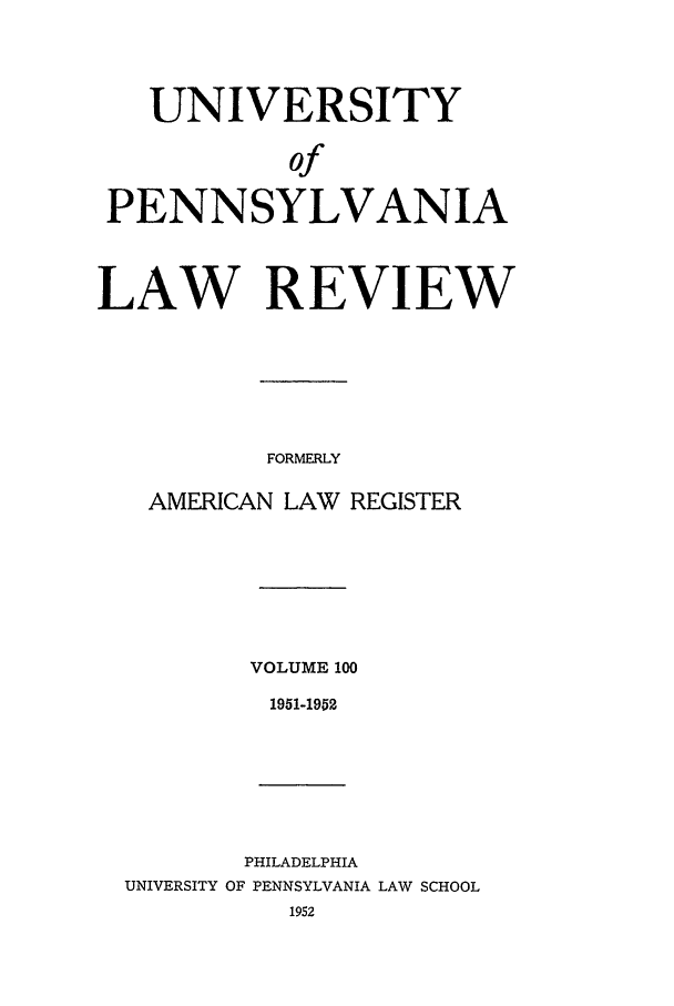 handle is hein.journals/pnlr100 and id is 1 raw text is: UNIVERSITY