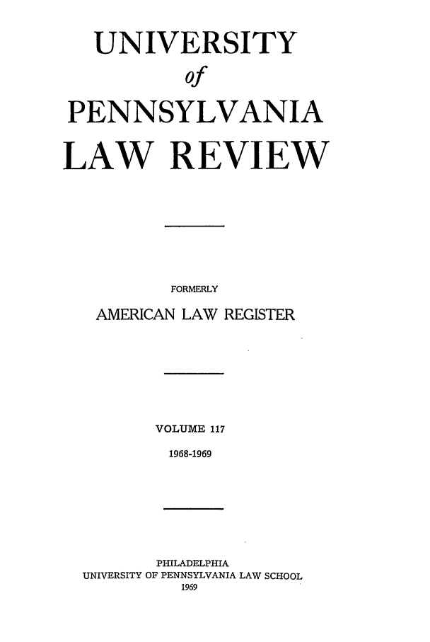 handle is hein.journals/pnlr117 and id is 1 raw text is: UNIVERSITY