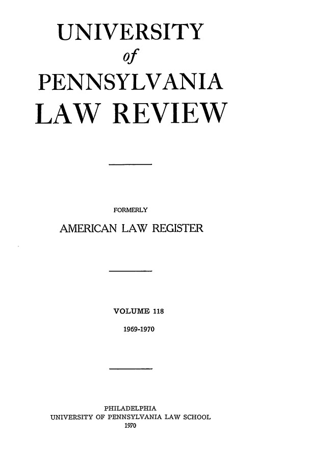 handle is hein.journals/pnlr118 and id is 1 raw text is: UNIVERSITY