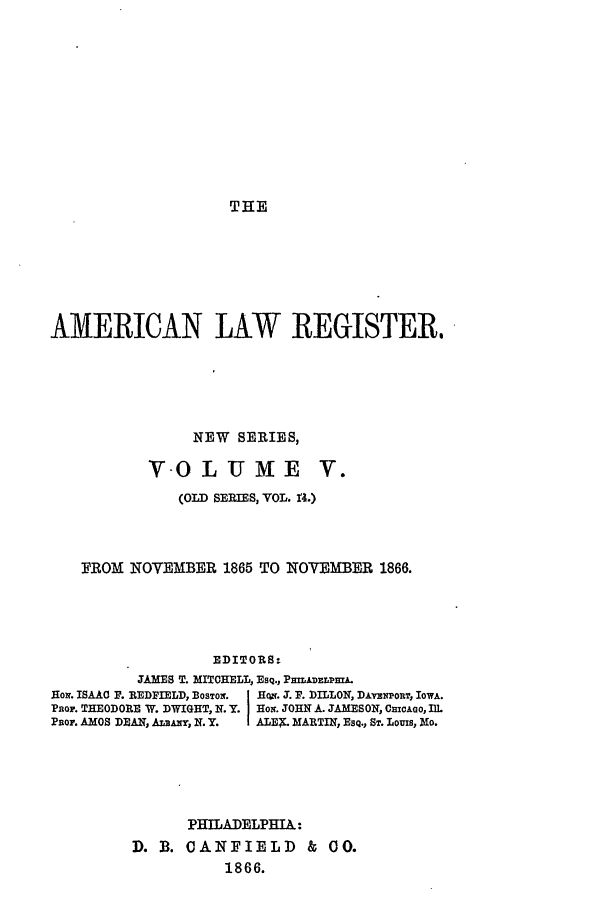 handle is hein.journals/pnlr14 and id is 1 raw text is: THE