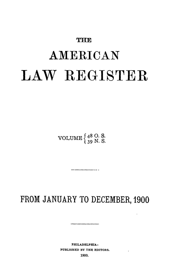 handle is hein.journals/pnlr48 and id is 1 raw text is: THE