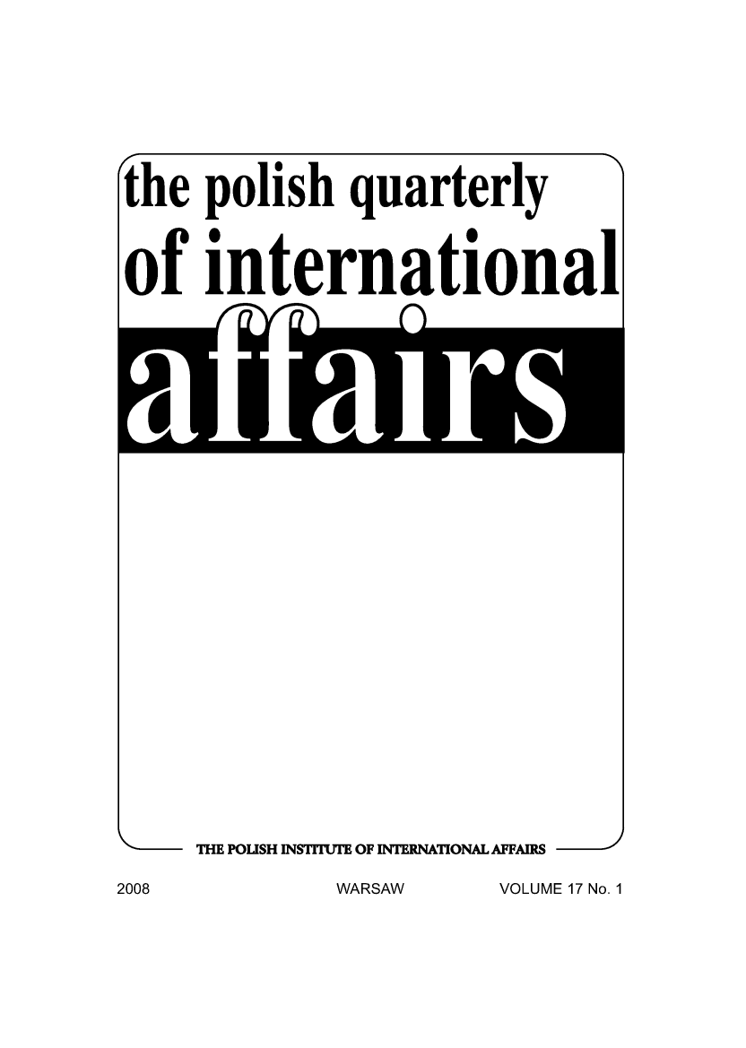 handle is hein.journals/polqurint17 and id is 1 raw text is: 
