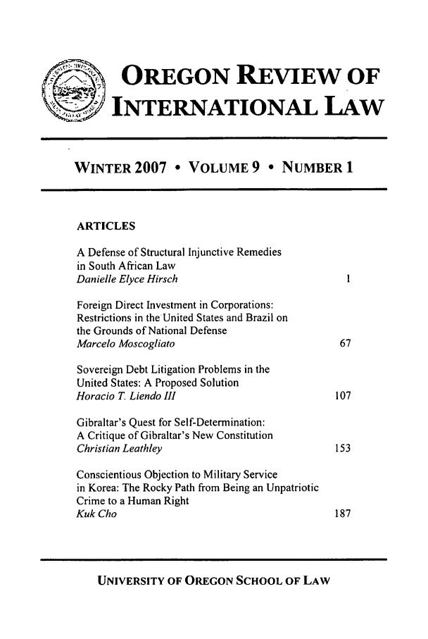 handle is hein.journals/porril9 and id is 1 raw text is: OREGON REVIEW OF