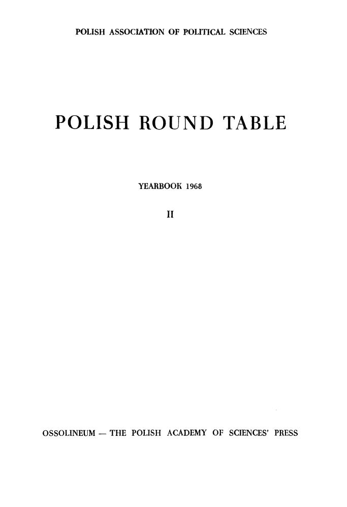handle is hein.journals/ppsy2 and id is 1 raw text is: 