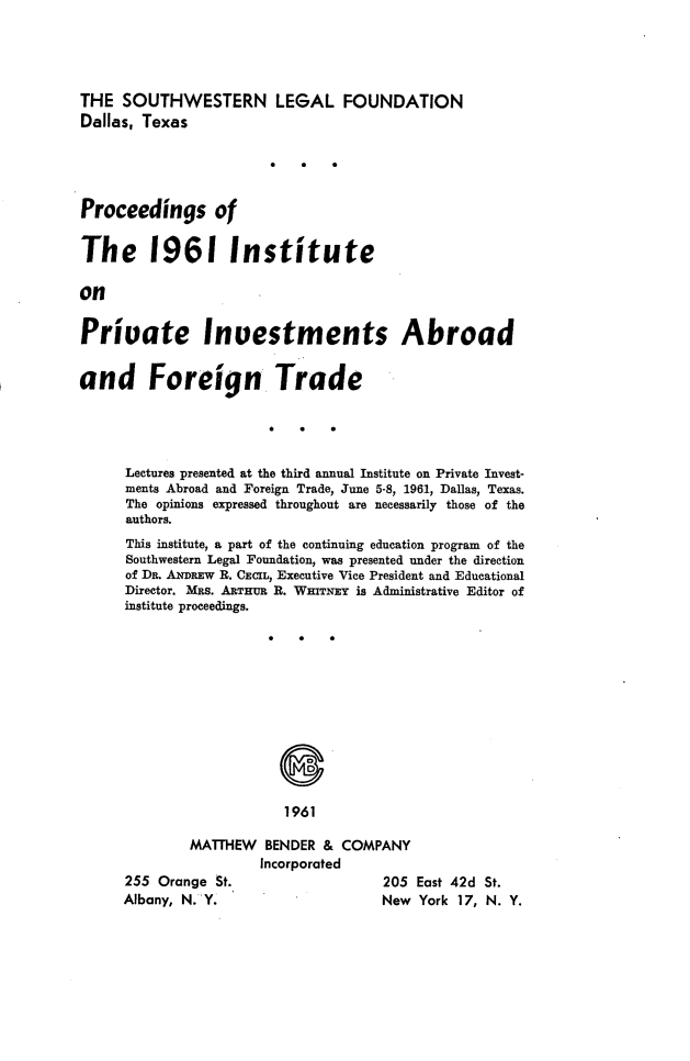 handle is hein.journals/prcinstpv3 and id is 1 raw text is: 