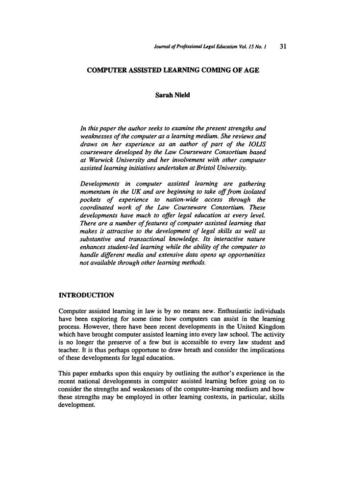 education and skill development essay