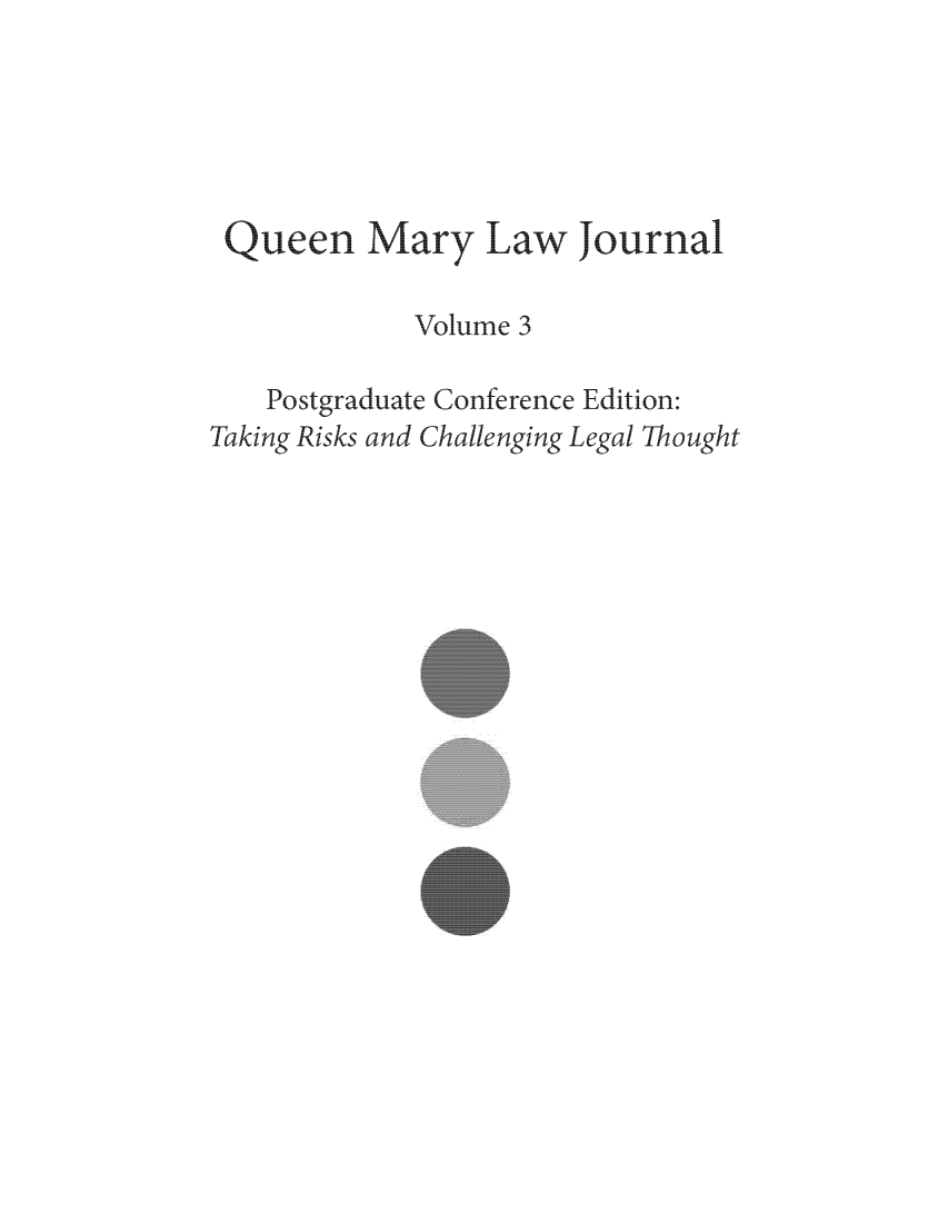 handle is hein.journals/qmlj3 and id is 1 raw text is: 