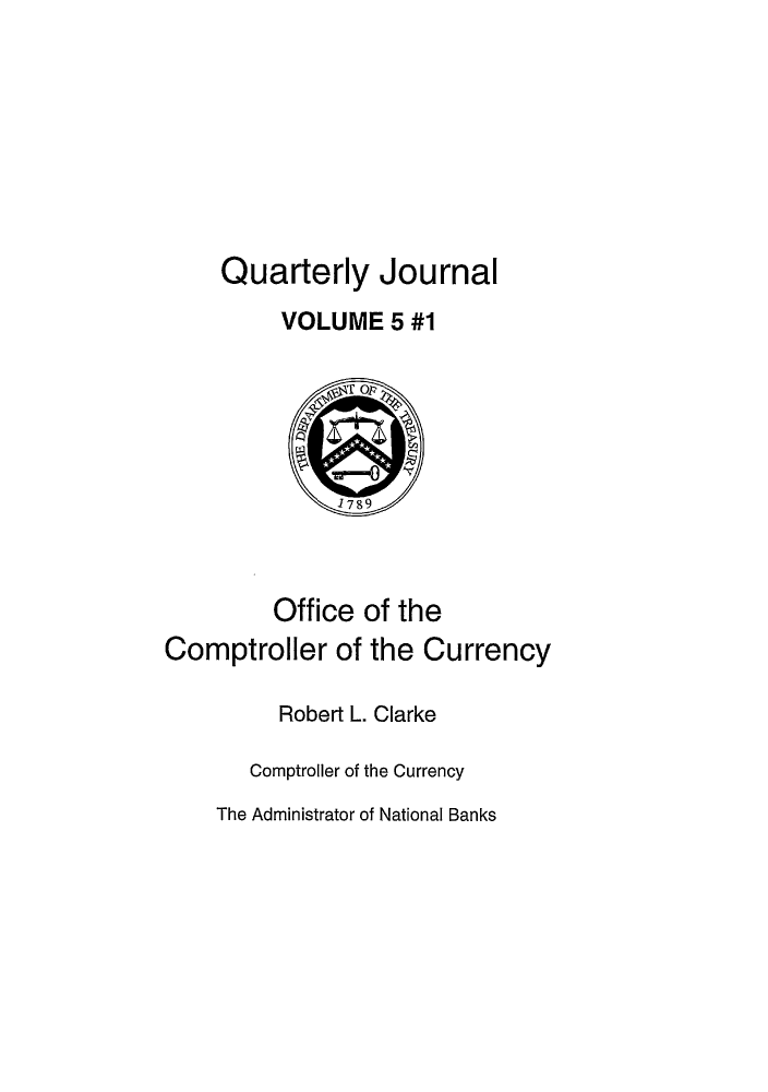handle is hein.journals/qujou5 and id is 1 raw text is: Quarterly Journal