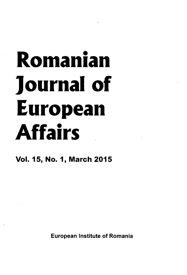 handle is hein.journals/rojaeuf15 and id is 1 raw text is: 
