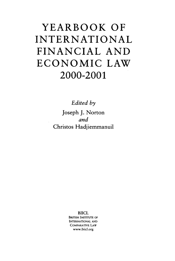 handle is hein.journals/sifet5 and id is 1 raw text is: YEARBOOK OF