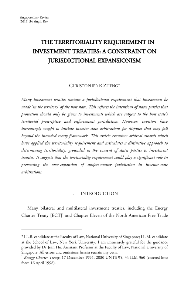 handle is hein.journals/singlrev34 and id is 157 raw text is: 
