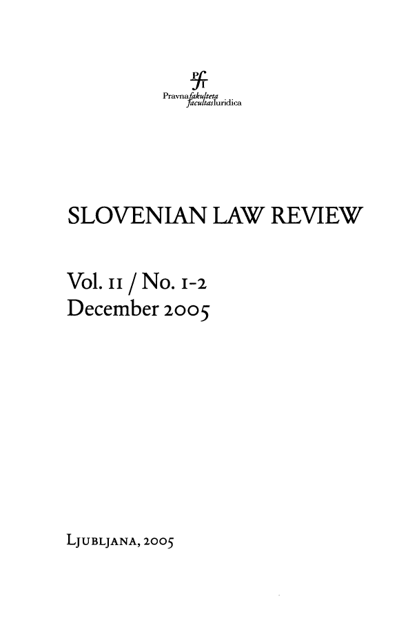 handle is hein.journals/slovlwrv2 and id is 1 raw text is: Pravna akuteta