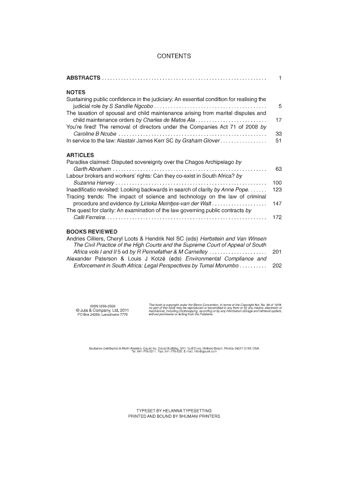 South African Law Journal V  128