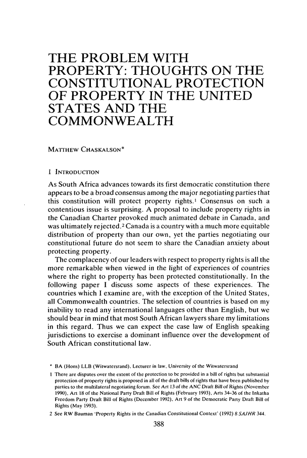 handle is hein.journals/soafjhr9 and id is 404 raw text is: THE PROBLEM WITH