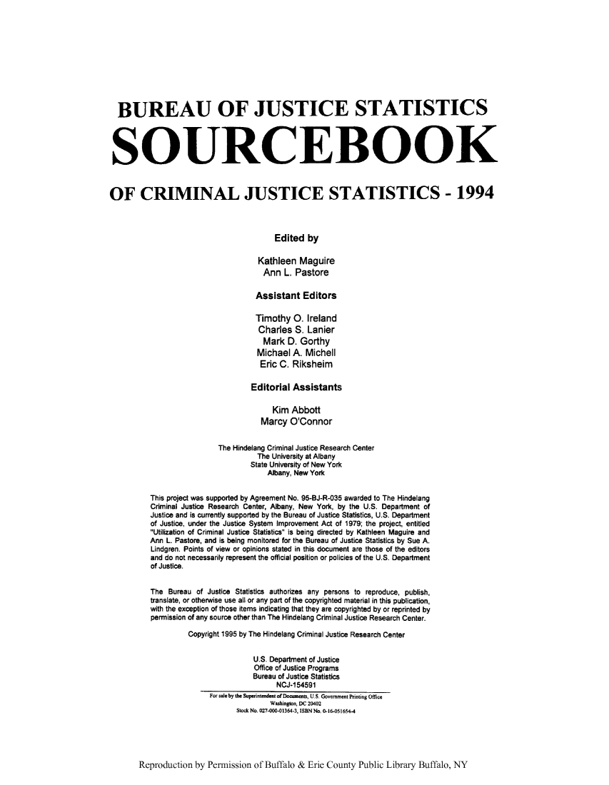 handle is hein.journals/socrijus1994 and id is 1 raw text is: BUREAU OF JUSTICE STATISTICS