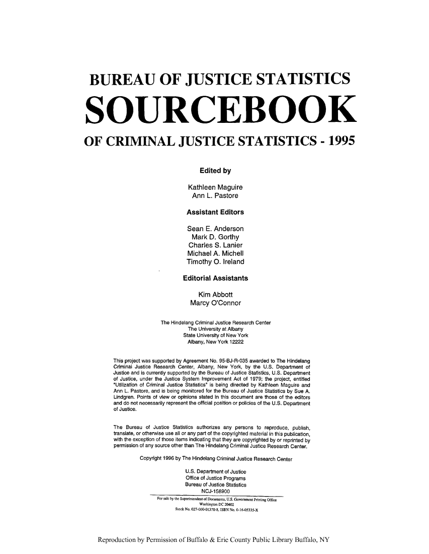 handle is hein.journals/socrijus1995 and id is 1 raw text is: BUREAU OF JUSTICE STATISTICS